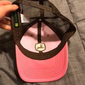 John Deere Accessories - Ladies pink John Deere hat